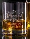 Whiskyglas mit deiner eigenen Gravur
