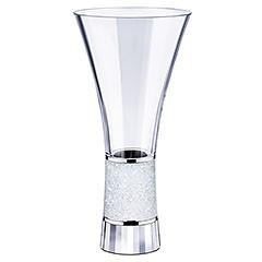 Vase aus klarem Kristall