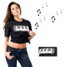 Sound T-Shirt Piano