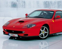 Ferrari F550 Maranello Selberfahren