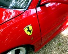 Ferrari Selberfahren im F355
