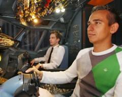 Flugsimulator B737
