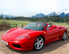 Ferrari Selberfahren in Oesterreich (30 Min.)