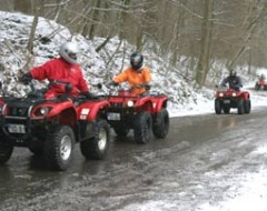Quad Winter-Tour