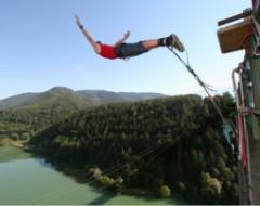 Bungee Jumping Jauntalbrücke