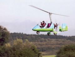 Gyrokopter / Tragschrauber  fliegen
