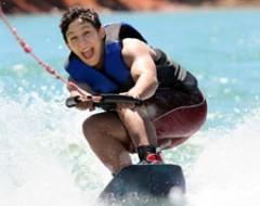 Wakeboard fahren