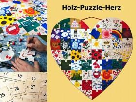 puzzle selber bemalen