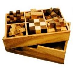 Knobelklassiker in edler Holzbox