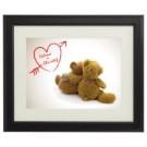 personalisiertes Bärenbild für Verliebte