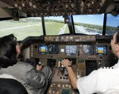Flugsimulator Boeing 747 in Duesseldorf