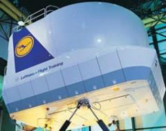 Lufthansa Flugsimulator B737