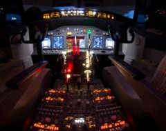 Flugsimulator B737 Wien