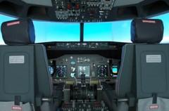 Flugsimulator Boeing 737 für Zwei