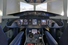 Flugsimulator Passagierflugzeug