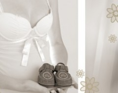 Babybauch- Fotoshooting