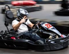 Indoor Kart fahren im Allgaeu