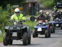 Quad Tour in Morsbach, Raum Gummersbach in NRW
