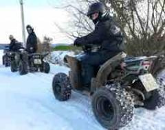 Quad Winter-Tour