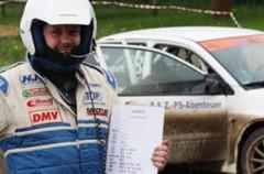 Beifahren bei Rallye