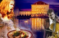 Abendessen beim Konzert