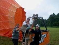 Ballonfahren in Hof, Raum Chemnitz