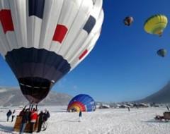 Alpenüberquerung im Heissluftballon