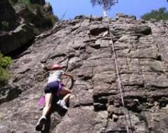 Kletterkurs im Klettergarten