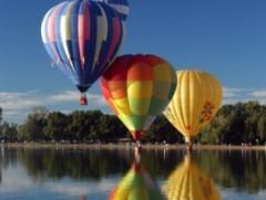 Ballonfahren in Allmendingen, Raum Ehingen (Donau)