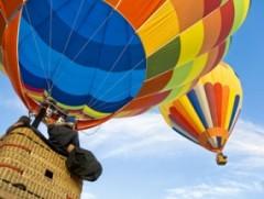 Ballonfahren in Münsingen in der Schwäbischen Alb