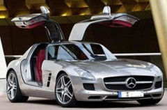 Mercedes SLS selbst fahren
