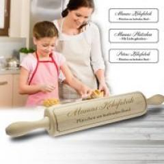 Mamas Nudelholz - mit Gravur