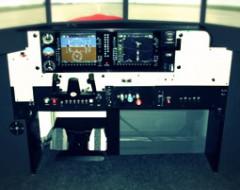 Flugsimulator Cessna 182 in Dortmund