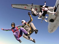 Fallschirm-Tandemsprung
