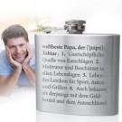 Flachmann mit Gravur - Definition Weltbester Papa