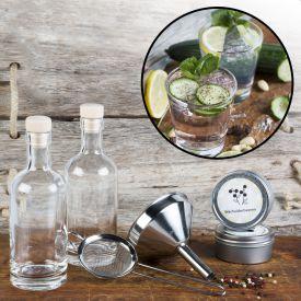 gin set zum selber machen als ausgefallene geschenkidee bei givester. Black Bedroom Furniture Sets. Home Design Ideas