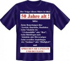 T-Shirt über 50 Jahre