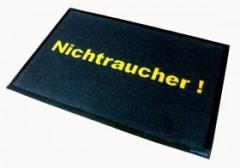 Fußmatte Nichtraucher
