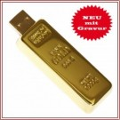 USB -Stick - Goldbarren