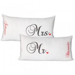 Kissen Mr und Ms mit Namen