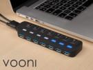 Vooni USB-Hub 7 Ports