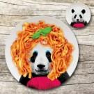 lustiger Teller - Panda