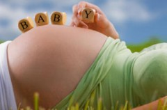 Babybauch Fotoshooting