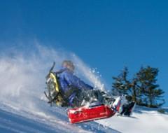 Schneeschuhtour  Bobfahrt
