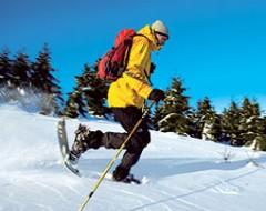 Schneeschuh-Tour mit LVS-Training in Leogang