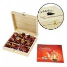 Erblühtee in edler Holzbox - Gravierbar