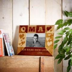 Personalisierter Bilderrahmen für Oma