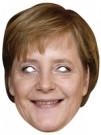 Pappmaske Angela Merkel