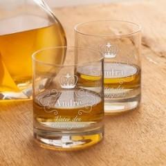 Whiskygläser für Bräutigameltern