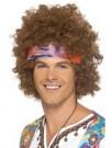 Hippie Afro Perücke